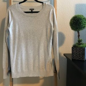 NWT Express sweater with rhinestone detail. Size L